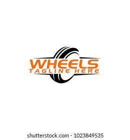 Wheels Logo Design