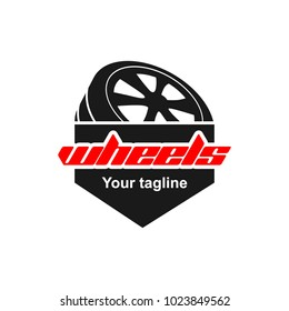 Wheels Logo Design