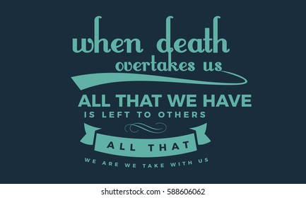 Death Quotes Images Stock Photos Vectors Shutterstock