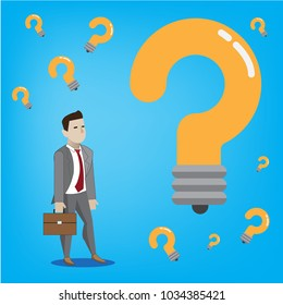 When questions arise in business, the answer of thought arises.
