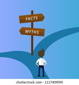 Which way to choose facts or myths