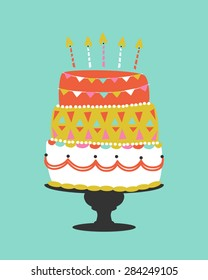 Tremendous Whimsical Cake Images Stock Photos Vectors Shutterstock Funny Birthday Cards Online Alyptdamsfinfo