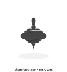 Whirligig icon isolated on white background. Whirligig vector logo. Flat design style. Modern vector pictogram for web graphics - stock vector