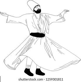 whirling dervish, Sufi, Semazen, sebi arus, mevlana, sufism, sufi dance, sufi whirling, ramadan, ramadan kareem, ramazan