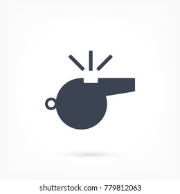 Whistle Vector icon