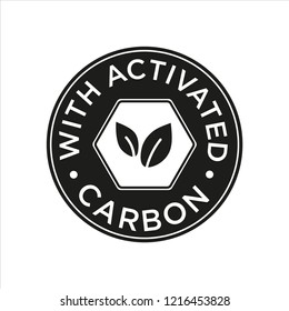 Whit Activated Carbon icon.