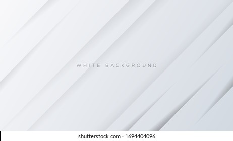 White absract polygonal background. Vector background. Eps10