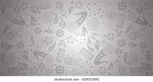 white abstract background template. vector illustration
