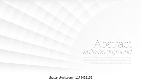 White abstract background. Vector background 3d paper art style can be used in cover design, book design, poster, flyer, cd cover, website backgrounds or adv design.