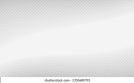 White Abstract Background Vector Illustration.