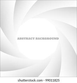 White abstract shutter photo.Vector eps10