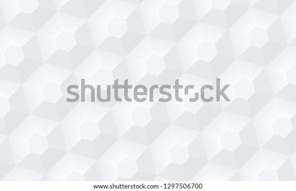White Abstract Texture Geometric Pattern Vector Stock Vector ...