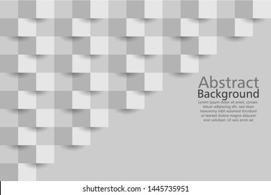 white  abstract texture. vector background 3d paper art style can be used in cover design, poster, flyer, book design, website backgrounds or advertising