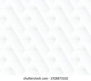 White abstract texture. Vector background 3d paper art style can be used in cover design.