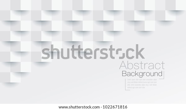 White Abstract Texture Vector Background 3d Stock Vector (Royalty