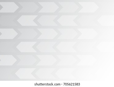 white arrow with White background , background can used for wallpaper or design , vector.