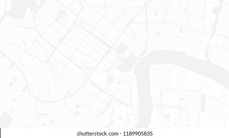 white art map city new orleans