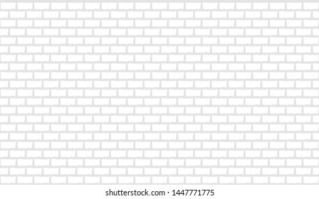 White background in brick wall style