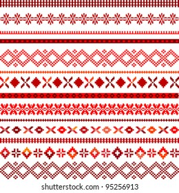 white background with ethnic motifs
