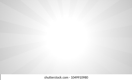 White Background With Ligths and Gradient