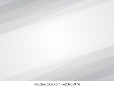 White background overlap dimension gray color vector illustration message board for text and message design modern website