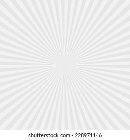 white background : sunburst vector