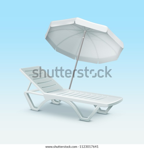 Surprising White Beach Sunbed Sun Bed Chair Royalty Free Stock Image Gmtry Best Dining Table And Chair Ideas Images Gmtryco