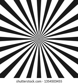 White and black beam style background. Vector illustration.