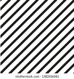 White and Black diagonal stripe pattern -  Vector