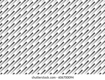 White and black geometric texture. Vector background