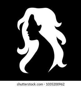 white black silhouette
