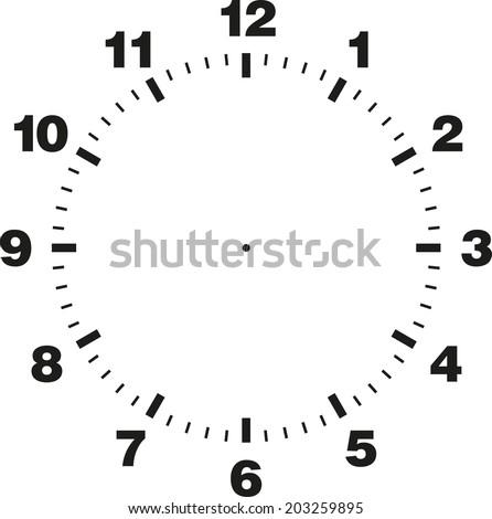 printable clock dials
