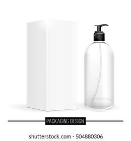 White bottle packaging.