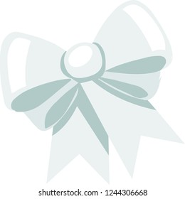 White bowknot, can be used for any kinds of decoration