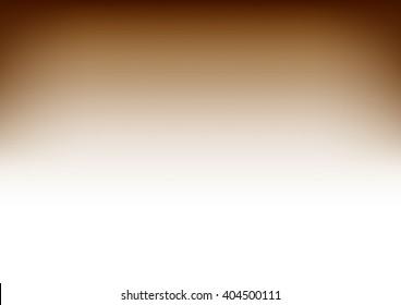 White Brown Gradient Background Vector Illustration