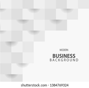White business background. Eps 10