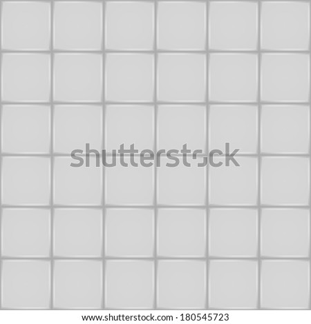 White Ceramic Tile Bathroom Wall Floor Stock Vector (Royalty Free ...