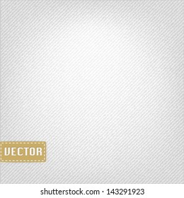White clean fabric texture,vector EPS10