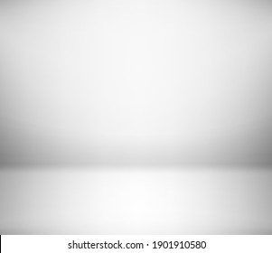 White empty room. Abstract background. Template for design