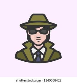 White female secret agent