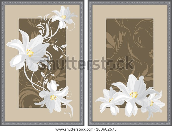 white-flowers-decorative-gray-frame-600w