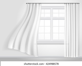 Curtains Blowing Images Stock Photos Amp Vectors Shutterstock