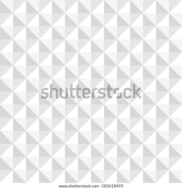White geometric abstract seamless pattern background