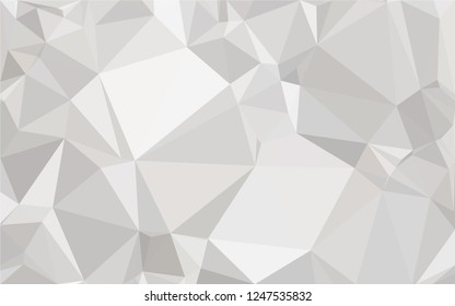 White geometric backgroand