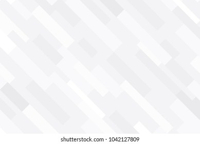 White geometric background, White mosaic backdrop, Vector