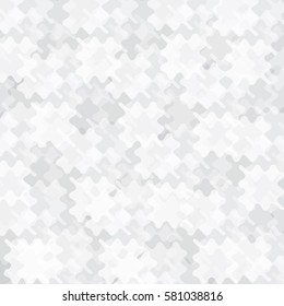 White geometric pattern background