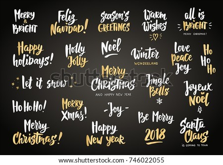 White Gold Holiday Greeting Quotes Wishes Stock Vector Royalty Free New Holiday Wishes Quotes