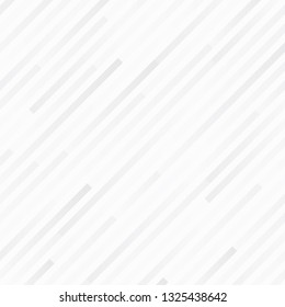 White gradation stripe line background, Abstract monochrome elegant geometric backdrop, Vector illustration