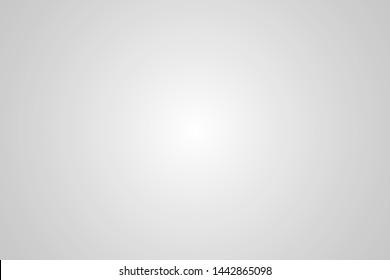 White gray gradient background surround Vector