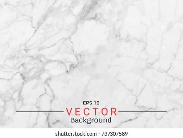 White gray marble texture, Vector pattern background, Can be used to create surface effect for your design product such as background of various greeting cards or architectural and decorative.